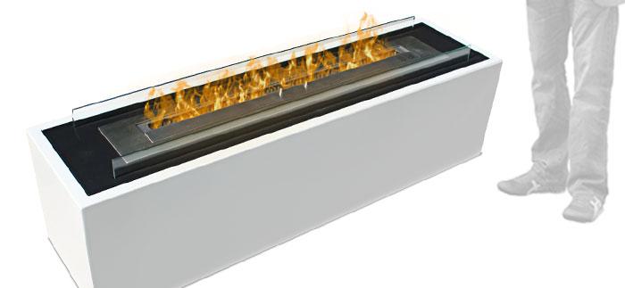 grande cheminée éthanol capri