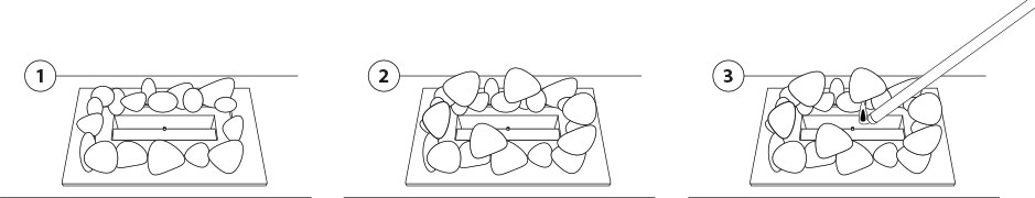 Mode emploi galet ceramique