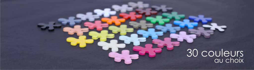 Nuancier des couleurs plexi